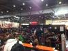 Links sehen wir das parallel ausgetragene Yu-Gi-Oh! Turnier mit über 50 Teilnehmern