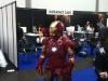 Hier nahm das Cosplay extreme Ausmaße an: Iron Man auf der Buchmesse