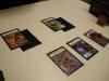 Nach dem Boarden waren oft nur noch 9 seiner Karten Nicht-Extended Art!
