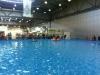 Ein weiteres Highlight der Halle 5. Ein riesiger Swimmingpool, indem man an einer Bootsfahrt teilnehmen konnte.