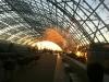 Ein letzter Blick in den Sonnenuntergang.