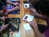 Hier wurden zunächst Cryptozoic ID Karten ausgefüllt, um auch im Turnier mitspielen zu können.