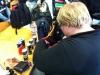 Eines der Themen des Tages: Der Bootcamp Energy Drink!!!