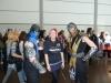 Hier ließ sich Nadine mit ein paar Mortal Kombat Charakteren ablichten!