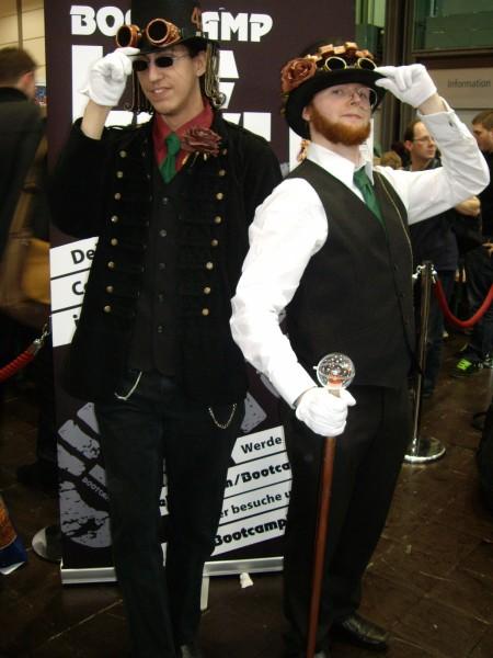 Hier werden die Steam Punk Gentlemen verkörpert!