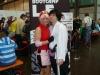 Hier haben wir Andy Genstedt, der gemeinsam mit Begleitung als Sasuke & Sakura Paar cosplayt!
