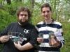 Der glückliche Gewinner Lukas neben dem Finalisten Andreas Streicher!