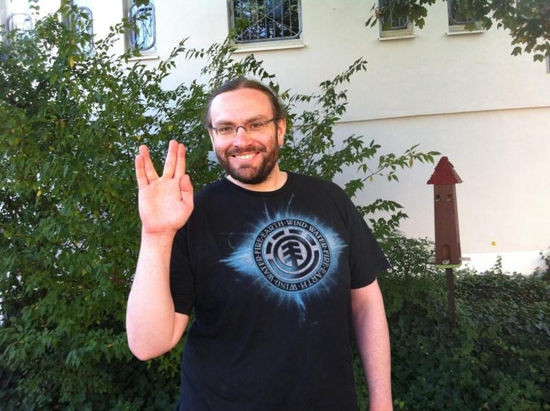 """Hans machte mal wieder """"den Spock""""!"""
