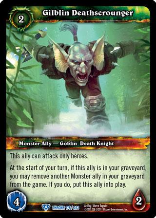 Harmoniert perfekt mit Monstrous Rush: Todesschnorrer der Gilblin!