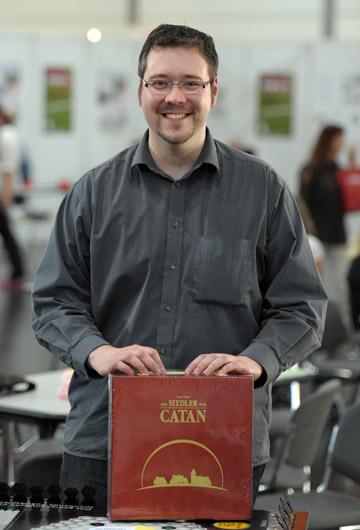 Carsten Collini ist neuer Sächsischer Meister der Siedler von Catan!