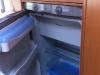 Das Highlight: Der Kühlschrank mit Tiefkühlfach