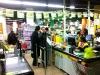 1. Stopp am Abend: Supermarkt in der Nähe des Hotels