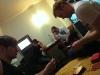 Wieder zurück im Hotel wurden natürlich direkt wieder Karten gespielt