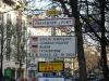 Man fliegt ab in Tempelhof und liest dann in Paris wieder den Namen der Stadt - komisches Gefühl