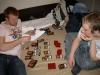 Jan und Vitus fanden sich ebenfalls bei uns ein und spielten noch mal ein wenig testweise