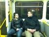 Ronny & Oli im Zug