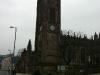 Nähere Aufnahme vom Kirchturm