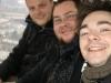 3 Bootcamper in einer Gondel