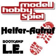 Helfer-Aufruf für die modell-hobby-spiel