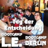 Tag der Entscheidung für das Bootcamp Berlin