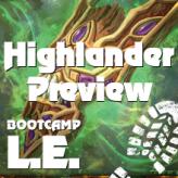 Einstimmung auf das Highlander-Format