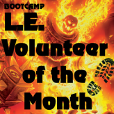 Christian ist Volunteer of the Month!