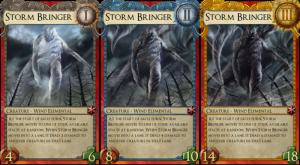 Storm Bringer erfordert zumindest 3 Gehirnzellen mehr, um ihn richtig zu spielen...