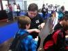 Dominic empfahl sich bereits auf der Buchmesse Leipzig und unterstützte dort das Bootcamp L.E.
