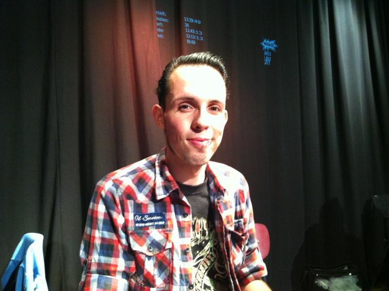 Erik war einer der vielen Magier-Spieler an diesem Wochenende!