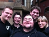 Einige der Freunde des Bootcamps aus England